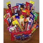 Candy Lover`s Gift Basket